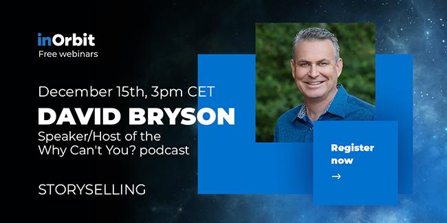 David Bryson inOrbit webinar speaker