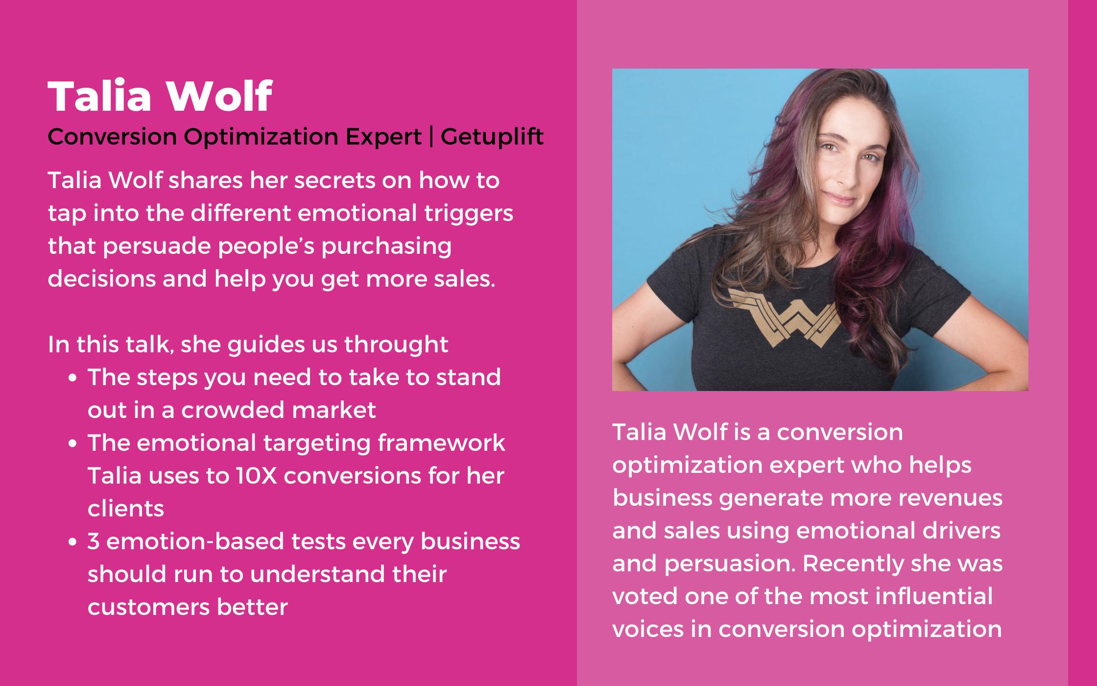 talia wolf inorbit webinars speaker